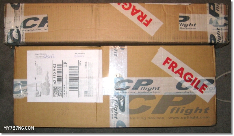 MCP/EFIS shipping packages from CPFlight.
