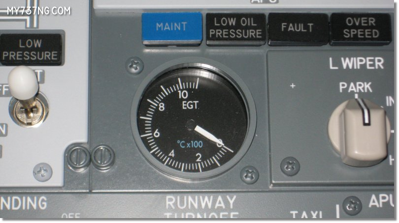 CPFlight overhead gauge font and color details.