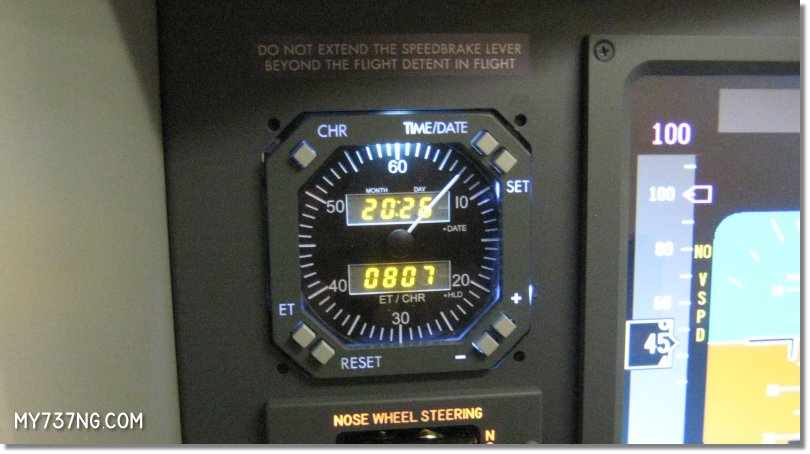 Flight Illusion GSA-70 Chronometer installed into my JetMax.
