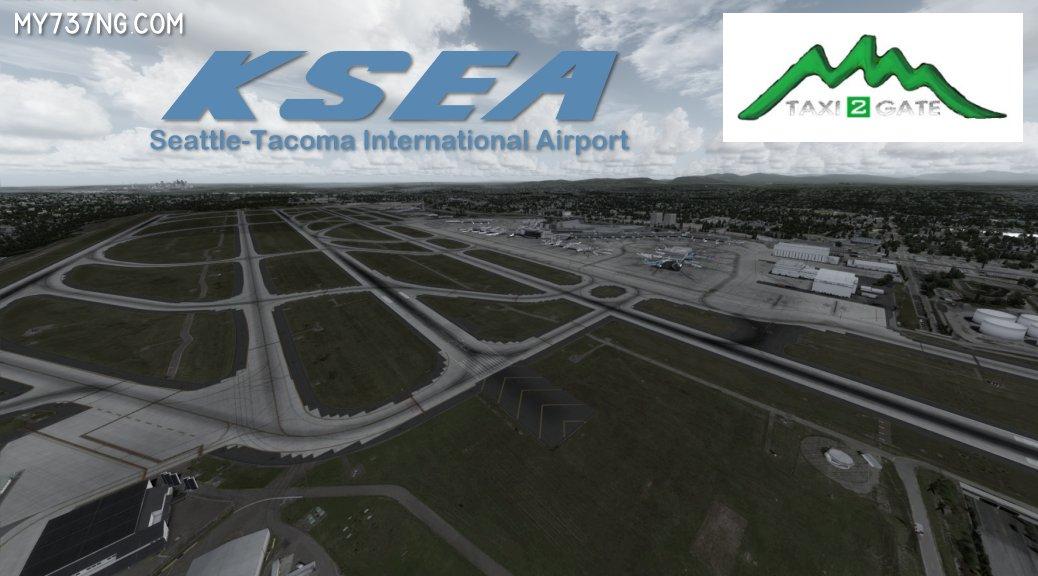 Taxi2Gate KSEA airport