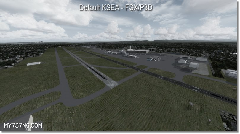 Default KSEA airport in FSX/P3D. Quite outdated.