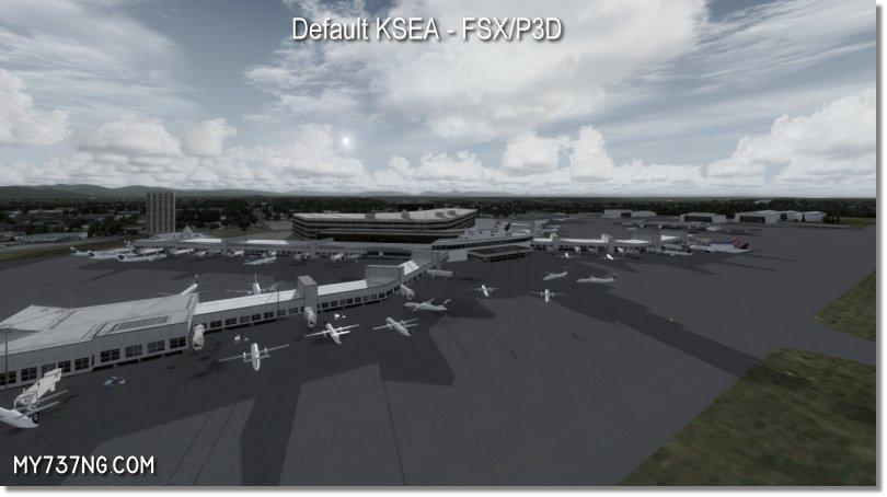 Default KSEA main passenger terminal.